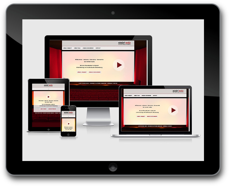 Responsive Design Medienuebersetzung Website
