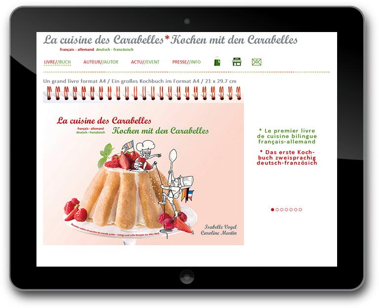 Kochen mit den Carabelles Website