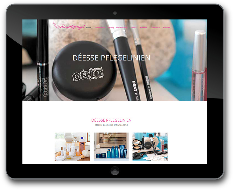 Beautyengel WordPress Website