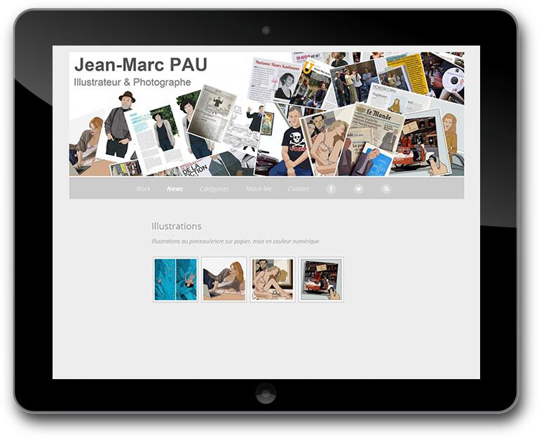 Fotograf und Illustrator Website