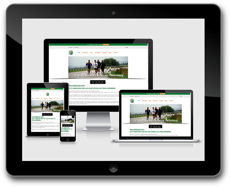 Via Carolina - Responsive Webdesign - CMS WordPress