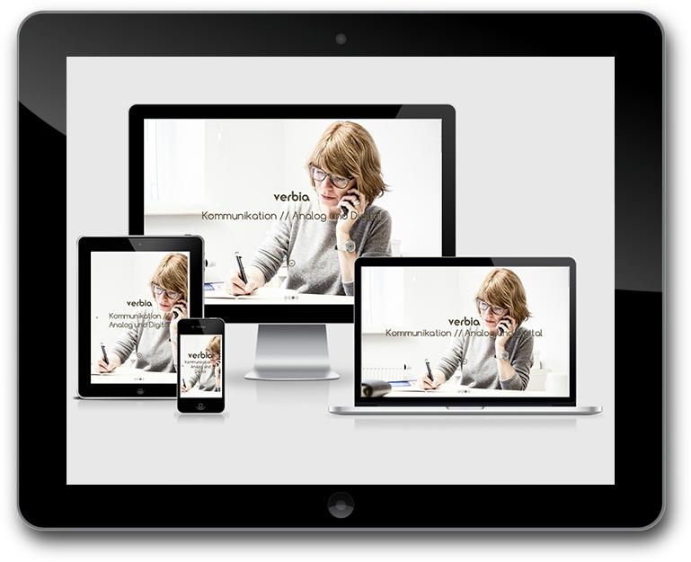 Verbia Responsive Design - Texte // Kommunikation