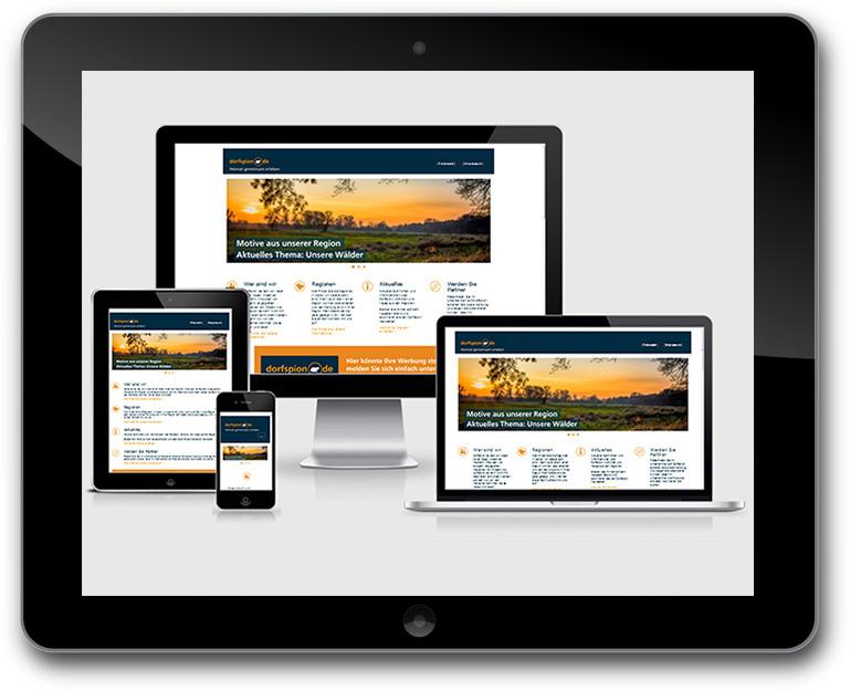 TYPO3 - Responsive Webdesign