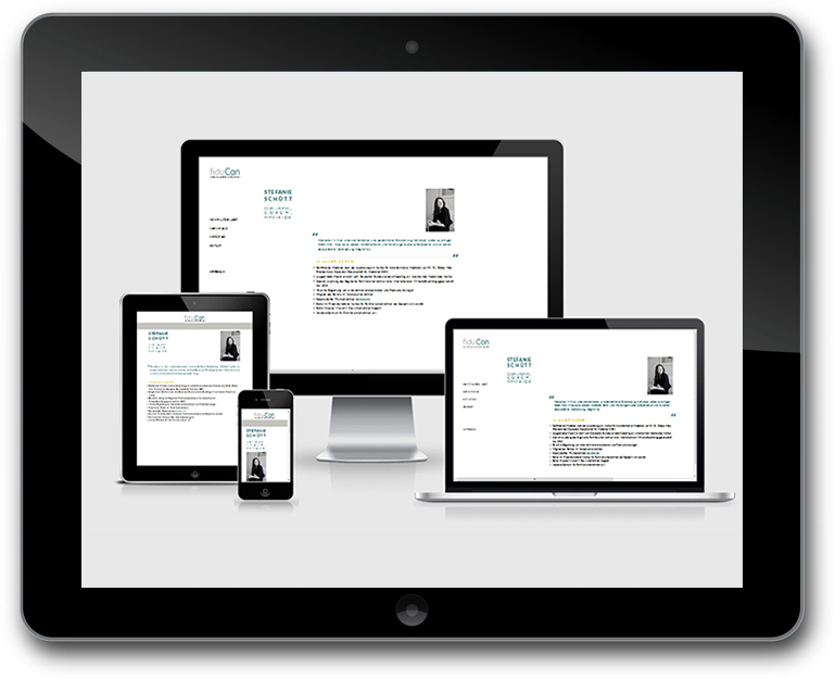 fiduCon | Unternehmensberatung für Familienunternehmen - Responsive Design