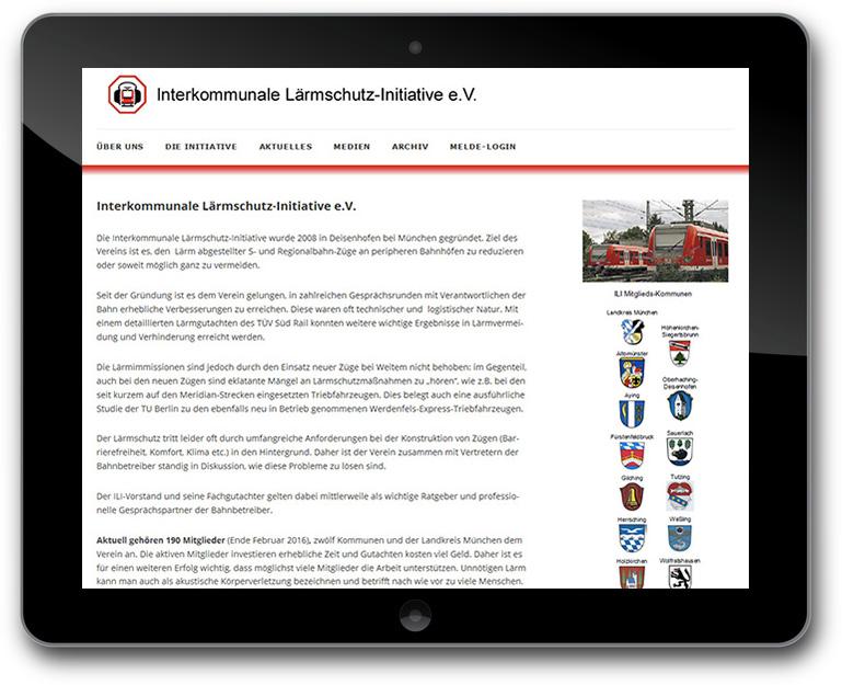 Lärmschutz-Initiative - CMS WordPress