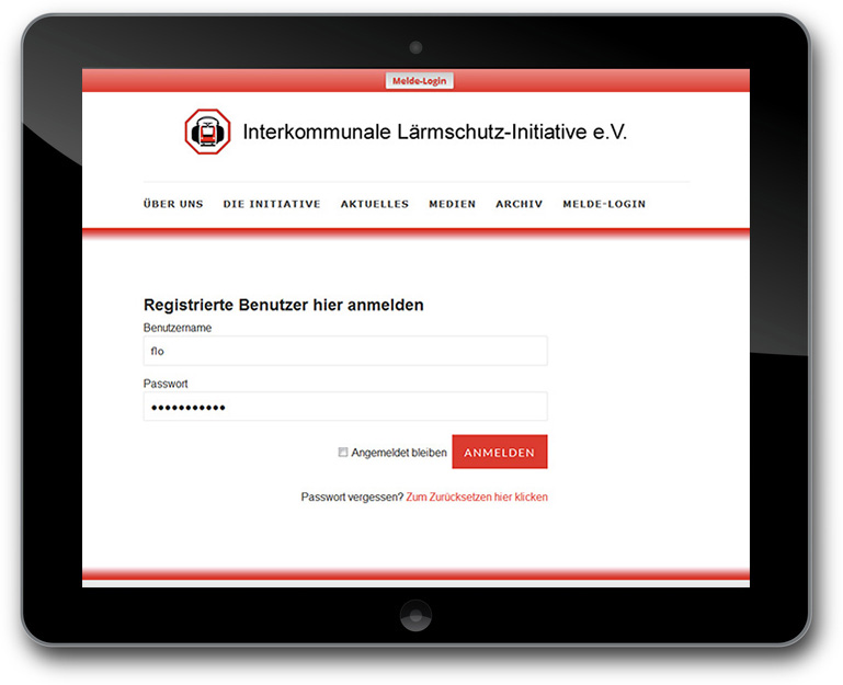 Interkommunale Lärmschutz-Initiative -