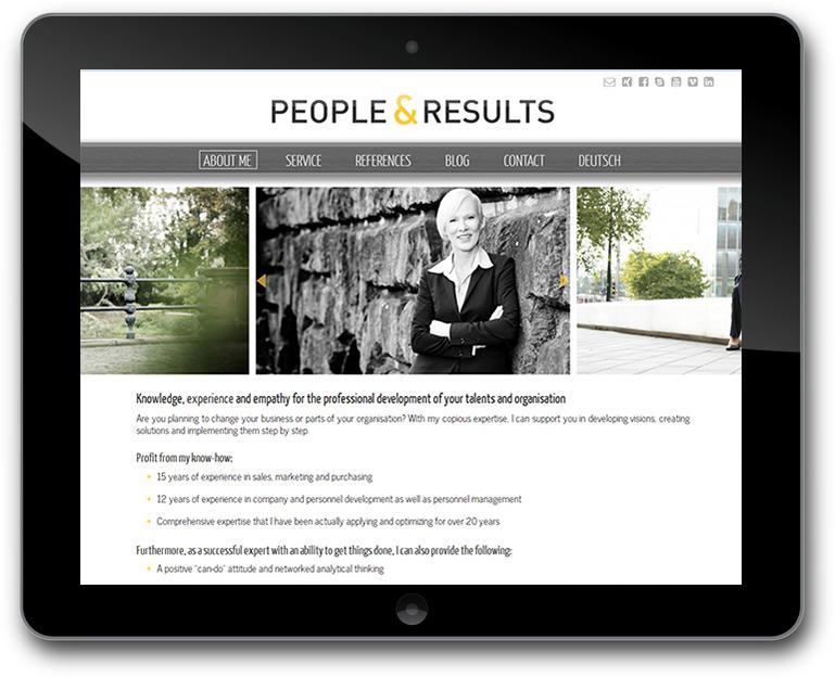 Website - CMS WordPRess - Mehrsprachig