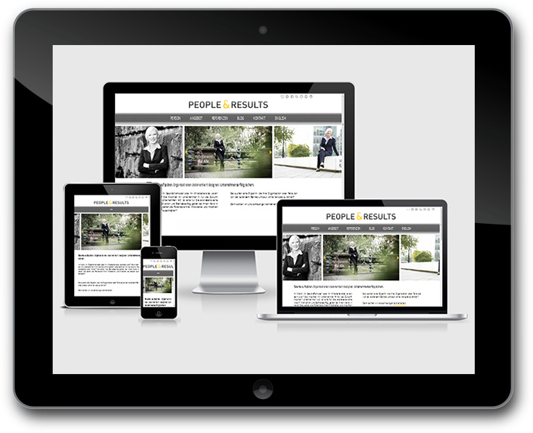 Website WordPress - Responsive Design