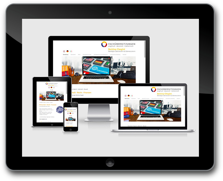 Website - CMS WordPress - Responsive Design