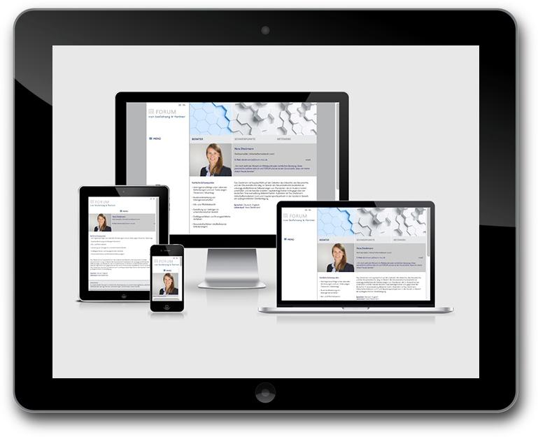 Kotowski Webdesign - Responaive WordPress Website - Anwälte