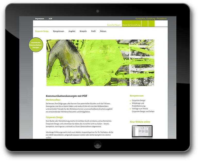 Kotowski Webdesigm - Raum für Gestaltung Website