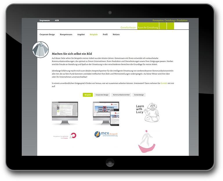 Kotowski Webdesign - Portofolio Eerweiterung - Raum für Gestaltung