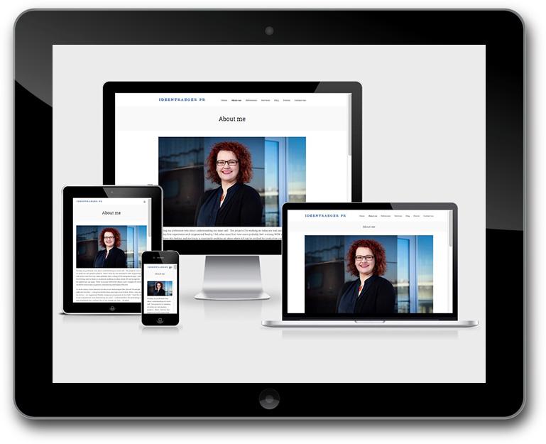 Anett Gläsel-Maslov Ideentrager – PR & Communications - Responsive Design