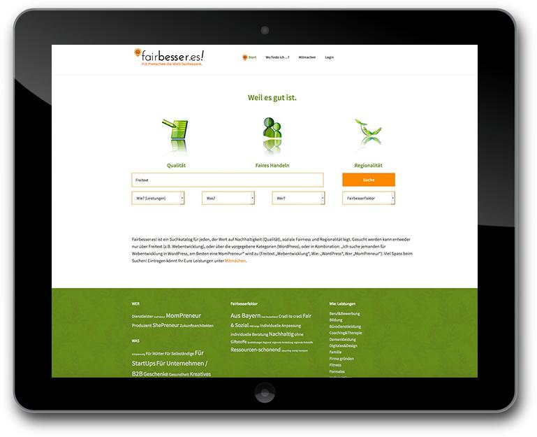 Fairbesser.es! | Website - CMS: WordPress