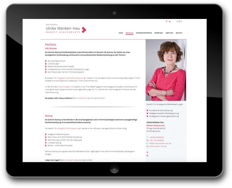 Market Assessments - München - Mehrsprachig - Website
