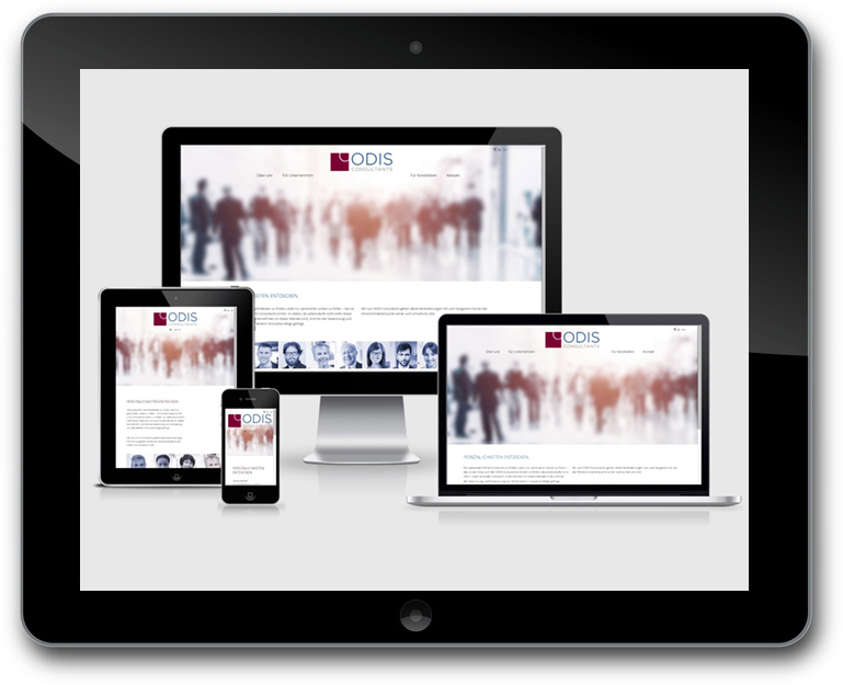 ODIS Consultants - Responsive Design - WordPress