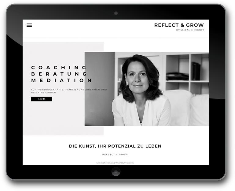 Individuelle Website für Coaching - Mediation und Beratung