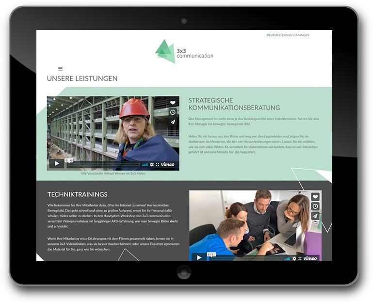 Website mit WordPress für Unternehmenskommunikation