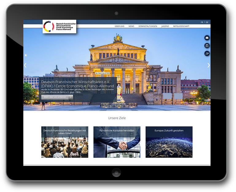 wordPress Website für Verein- Mehrsprachigkeit